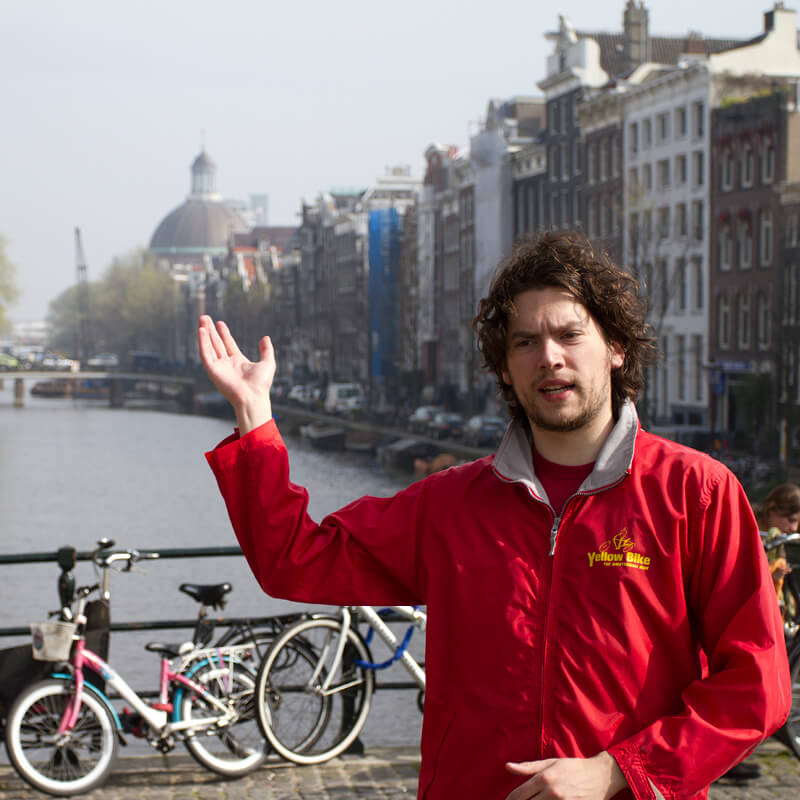 Tour di Amsterdam in bici