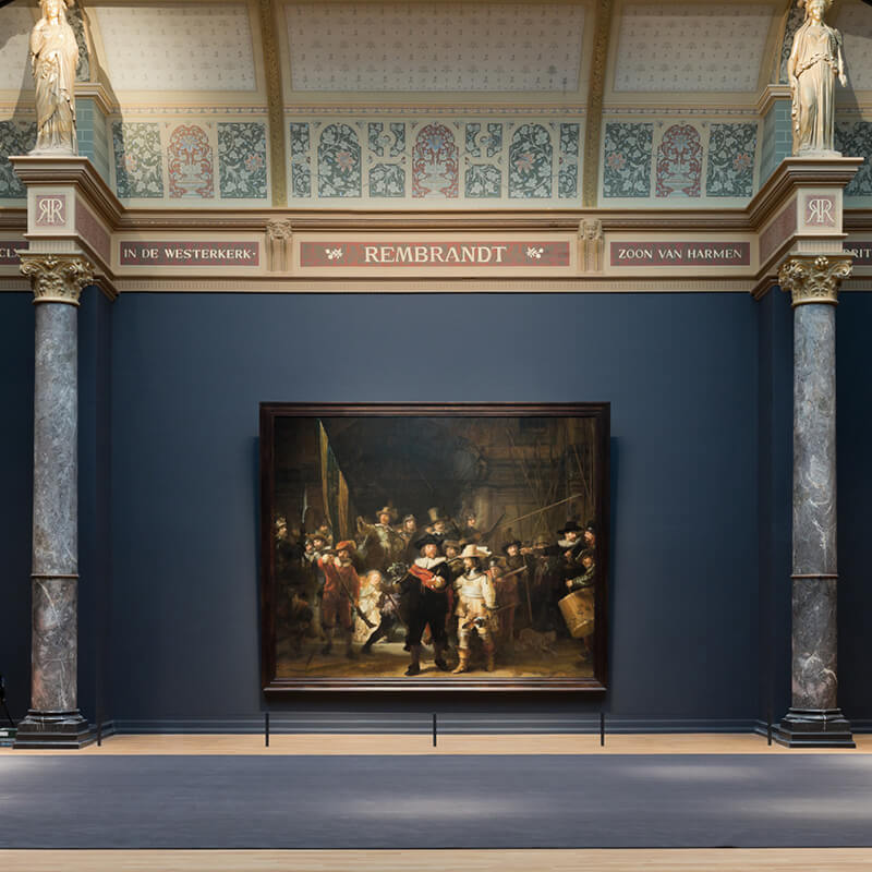 Hop on Hop off bus & boat 24 h. + Rijksmuseum