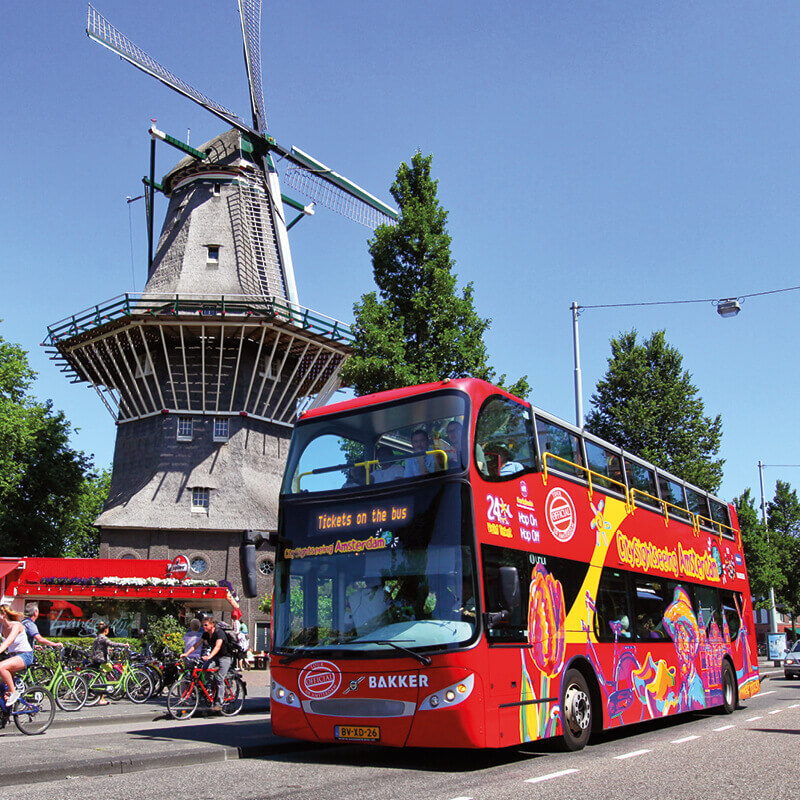 Hop On - Hop Off Bus + Boot Combinatie 24 U.