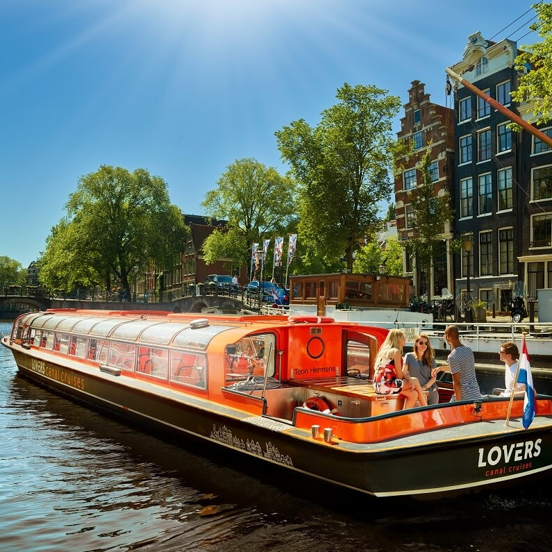 Red Light Secrets + 1 h. Amsterdam Canal Cruise